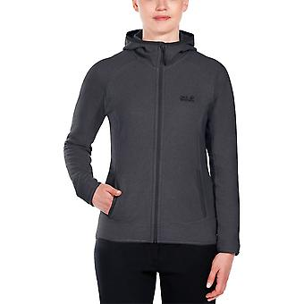 Jack Wolfskin Womens Arco Fleece Jacket Breathable and Fast-Drying