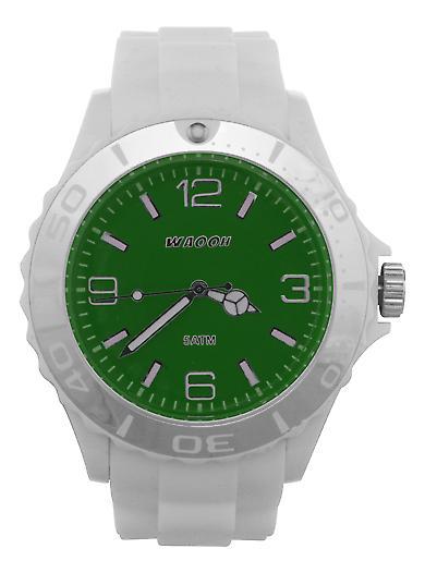 Waooh - Watch MC42 White Bezel White & Silver