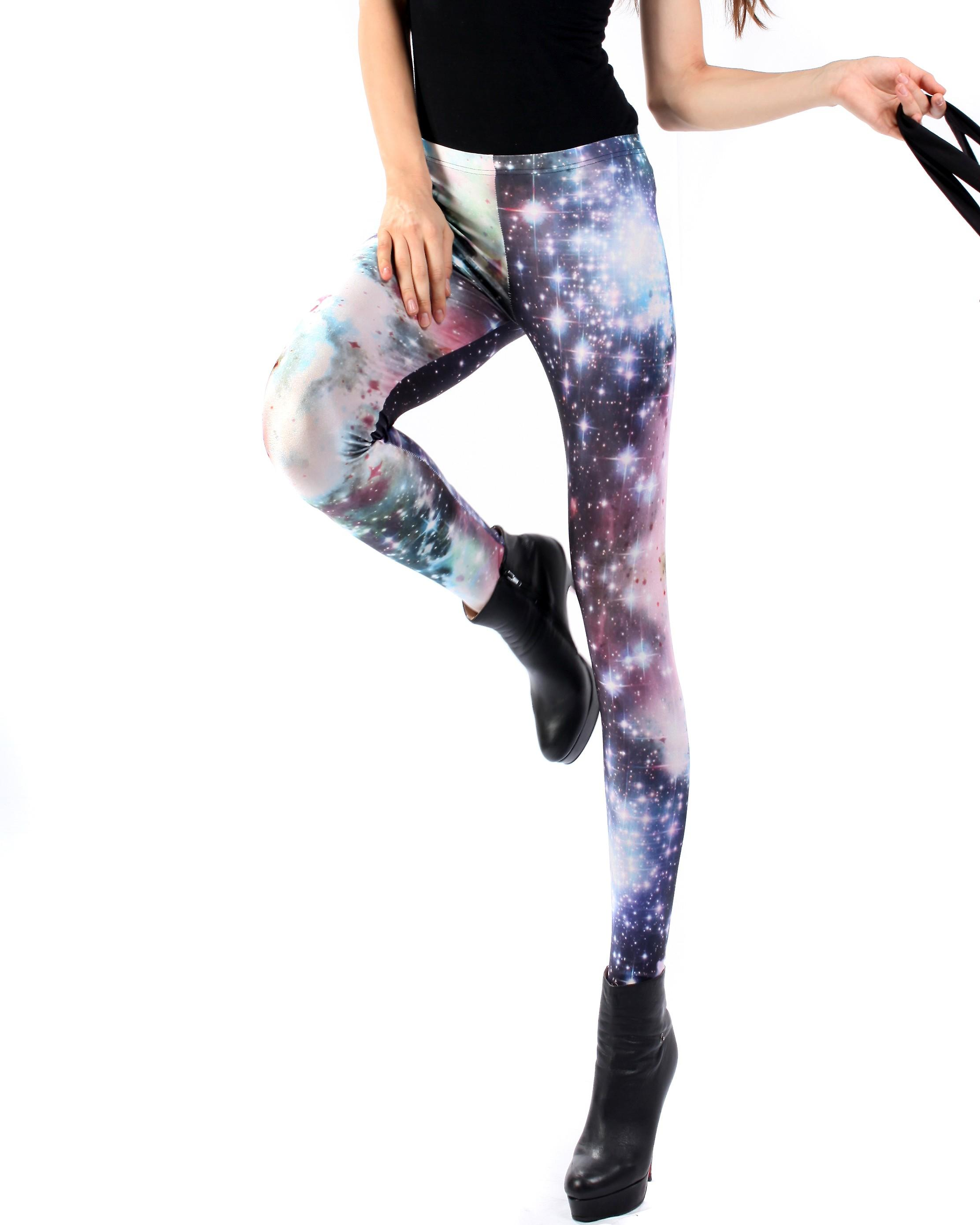 Waooh - Fashion - Leggings long fantasy - Starry Galaxy