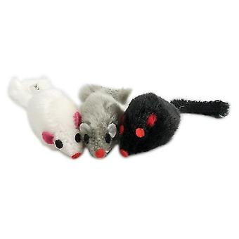 Pawise Cube Toys Cats Mice Plush (Cats , Toys , Mice)