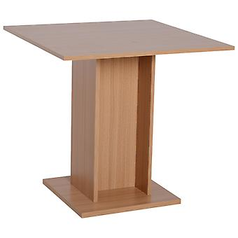HOMCOM Wooden Compact Dining Table Study Reception Bar Workstation Home Furniture