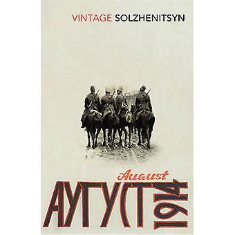 August 1914 by Aleksandr Solzhenitsyn - 9780099589556 Book