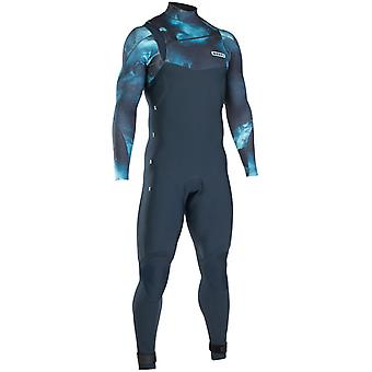 Ion Dark Blue Strike Amp Semidry 5mm Long Sleeved Wetsuit