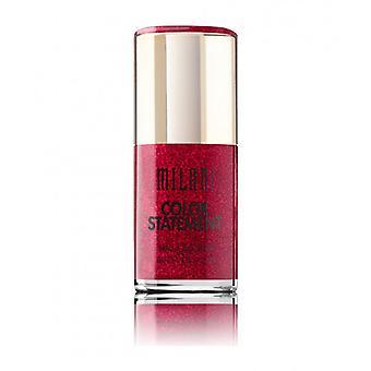 Milani kleur verklaring nagel lak-53 Crimson juweel