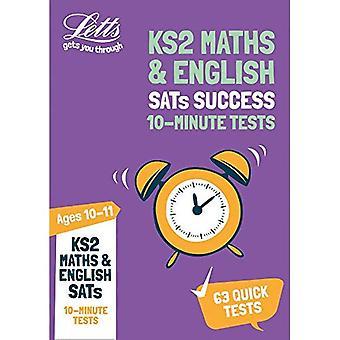 Letts KS2 SATs Success - KS2 Maths and English SATs� Age 10-11: 10-Minute Tests: 2019 tests (Letts KS2 SATs Success)