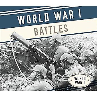 Eerste Wereldoorlog veldslagen (essentiële bibliotheek van eerste Wereldoorlog)