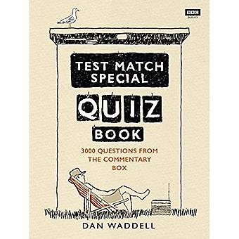 Le Test-Match Quiz spécial livre