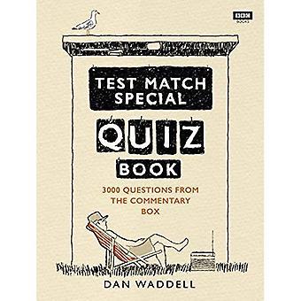 Test Match speciell frågesporten boken