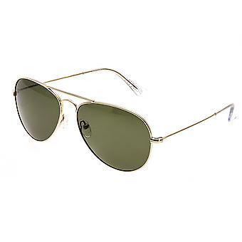 Bertha Brooke Polarized Sunglasses - Gold/Black