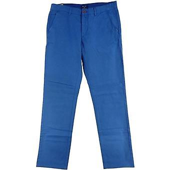 GANT Soho Prep Chino Mens smal passform lav midje bukser - blå