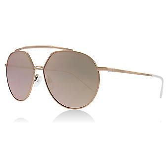 Emporio Armani EA2070 32194Z Copper EA2070 Pilot Sunglasses Lens Category 3 Lens Mirrored Size 59mm