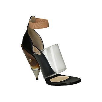 Givenchy sorte læder sandaler