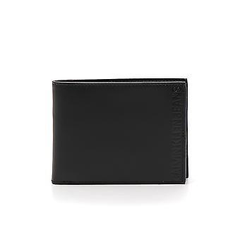 Calvin Klein Jeans Schwarz Leder-Geldbörse