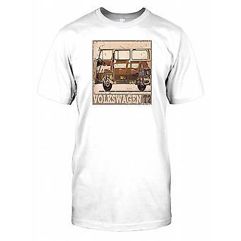 Camper Van T2 - Volkswagen Kids T Shirt