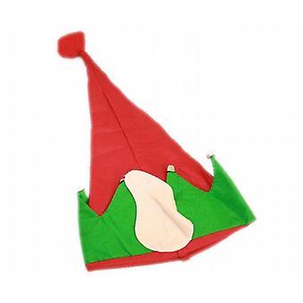 Christmas Elf Hat følte med ører & Bell - (XA5253)