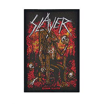 Slayer Devil On Throne Woven Patch