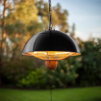 Nova - 1500w Hanging Lamp Heater - Outdoor Garden Electric Powered Chain Suspended