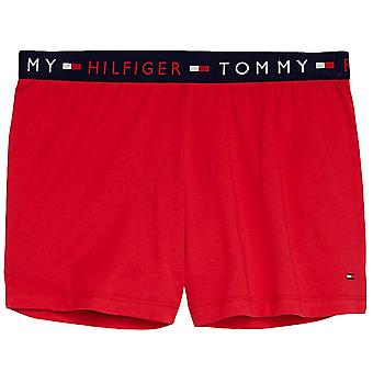 Tommy Hilfiger Remix Logo taille Shorts - Tango Red