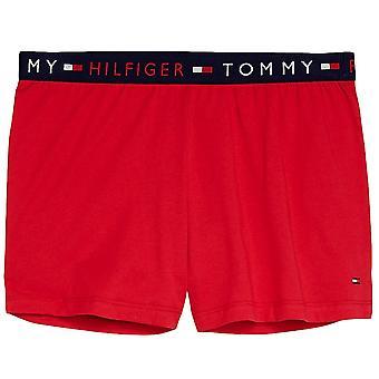 Tommy Hilfiger Remix Logo Waist Shorts - Tango Red