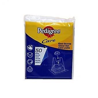 Pedigree Exelpet EASI-Scoop Refill plastic zakken (14 X Pack van 50)