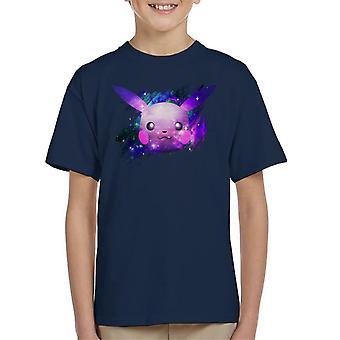 Ruimte Pikachu Pokemon Kid's T-shirt
