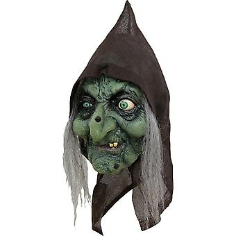Old Hag Latex Mask For Halloween