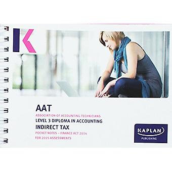 Indirect Tax (FA14) - Pocket Notes - 9781784150174 Book