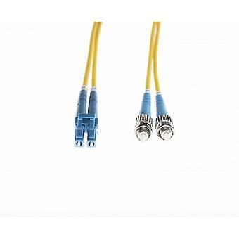 Lc-St Os1/Os2 Singlemode Fibre Optic Cable