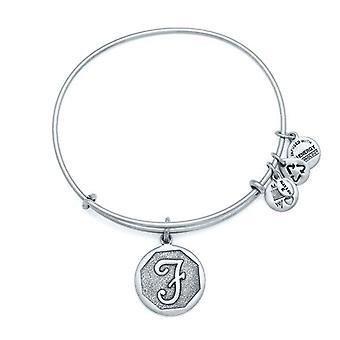Alex et Ani initial F bracelet en argent A13EB14FS