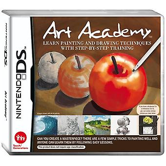 Art Academy Learn Painting and Drawing Techniques with Step-by-Step Training (Nintendo DS) - Factory Sealed