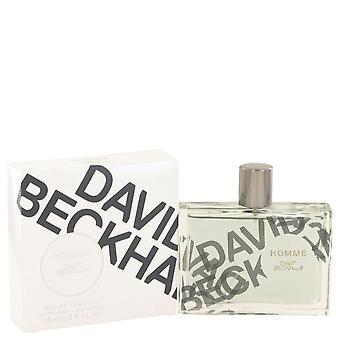 David Beckham Homme Eau De Toilette Spray By David Beckham 75 ml