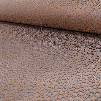 Arthouse Eldora honingraat patroon dierlijke huid metallic behang 673100