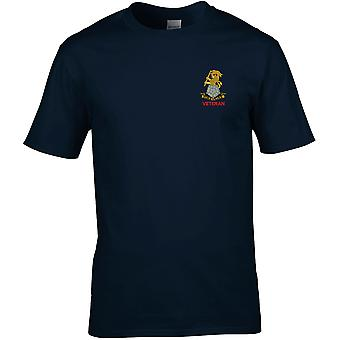 Yorkshire Regiment Veteran - Licensed British Army Embroidered Premium T-Shirt