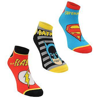 Character Womens Trainer Socks 3 Pack Ladies