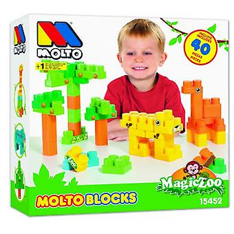 Molto Blocks Box 40 Pieces