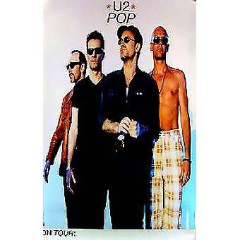 Affiche de musique originale de U2