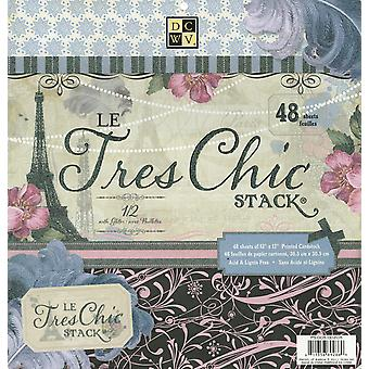 Le Tres Chic Paper Stack 12