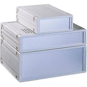 Desktop case 290.9 x 108 x 199 Acrylonitrile butadiene styrene Light grey Bopla UM62009L+1X AB02009+ 2X FP60018 1 pc(s)