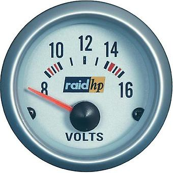 raid hp 660223 Voltmeter 8 - 16V voltage12V