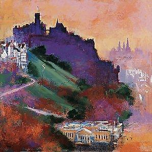 Colin Ruffell print - Edinburgh Castle