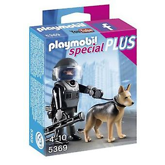 Playmobil 5369 Tactical Police Dog Unit