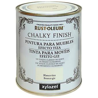 Xylazel Rustoleum Mueb kalkholdige Finish Antique hvid 750