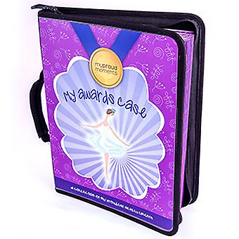 My Proud Moments Medal, Badge & Certificate Case - Dance - Purple