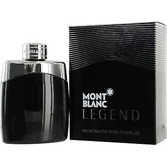 Legend by Mont Blanc for Men 3.3 oz Eau De Toilette Spray