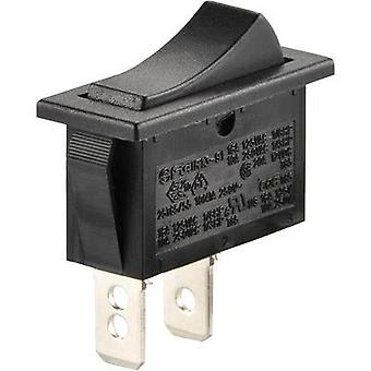 Toggle switch 250 Vac 10 A 1 x Off/On SCI R13-91A-01 latch 1 pc(s)
