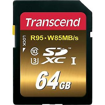 SDXC card 64 GB Transcend Ultimate Class 10, UHS-I, UHS-Class 3