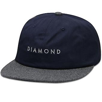Diamond Supply Co Leeway Snapback Navy