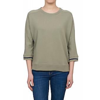 Lee sweat short-sleeved sweater ladies sweater green L52RPJ28