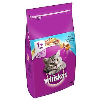 Whiskas 1 + gatto completare asciutto con tonno 3,8 kg