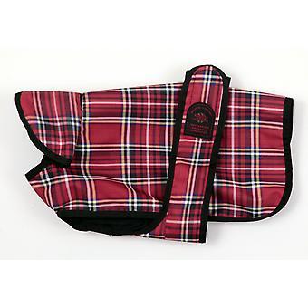 Unlined Belly Coat Red Tartan 8